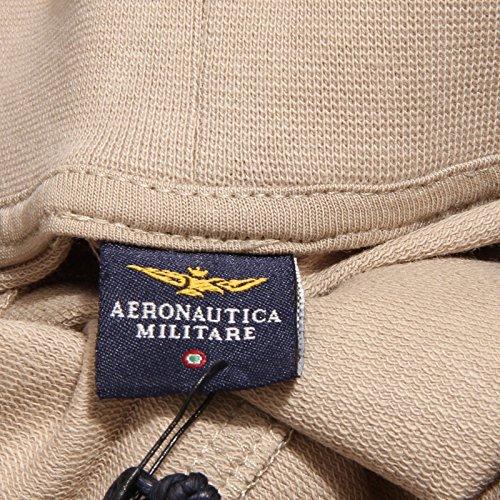 0326u Bermuda Beige Aeronautica Men Uomo Militare Sweatpant Short Sandy Sabbia Tuta 5qEEg