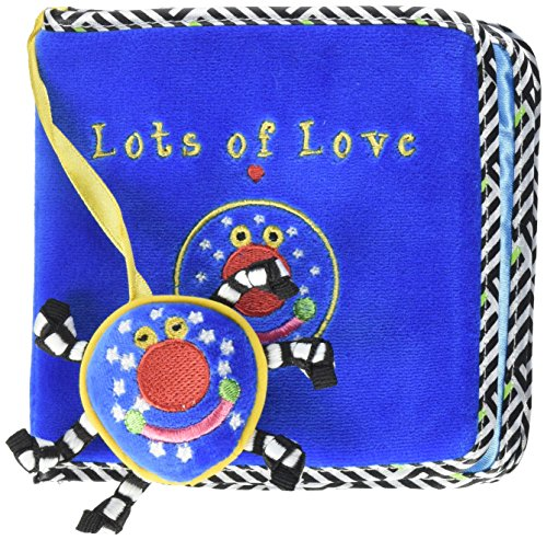 Manhattan Toy Whoozit Lots of Love Soft Activity Book Baby T