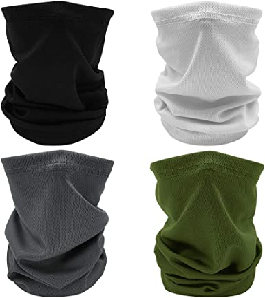 Fly Fishing Scarf Headwear Sun Protection Mask Anti-UV Neck Gaiter Hood #165