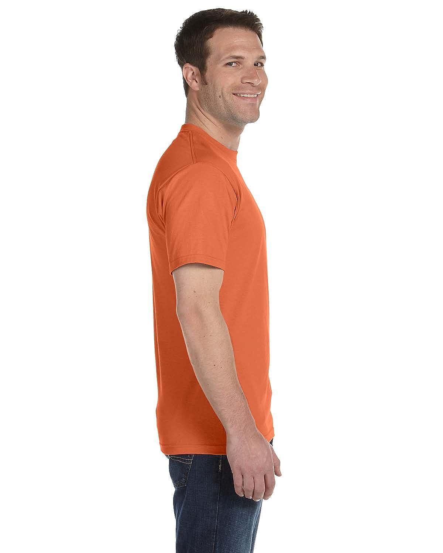 Gildan G8000 50/% Cotton 50/% Polyester DryBlend T-Shirt Texas Orange Medium 3 Pack