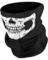 WHATWEARS Skeleton Ghost Skull Face Mask Biker Balaclava Call of Duty COD Costume Game