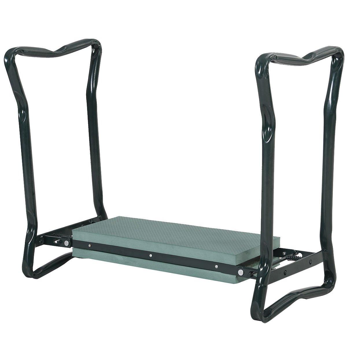 Smartbuy247 Folding Sturdy Garden Kneeler Gardener Kneeling Pad & Cushion Seat Knee Pad Seat