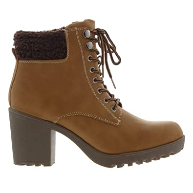 00395b599 Soul Cal Womens Luis Heeled Ankle Boots  Amazon.co.uk  Shoes   Bags