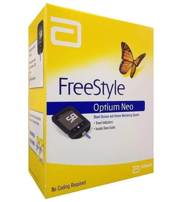 Glucómetro Abbott FreeStyle Optium Neo