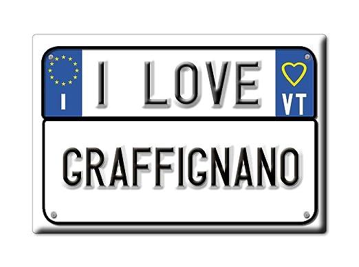 Enjoymagnets GRAFFIGNANO Souvenir IMANES DE Nevera Lazio IMAN ...