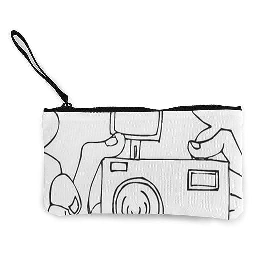 Monedero para cámara para colorear con cremallera, para ...