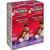 Children's Tylenol Grape Splash Flavored Liquid, 4