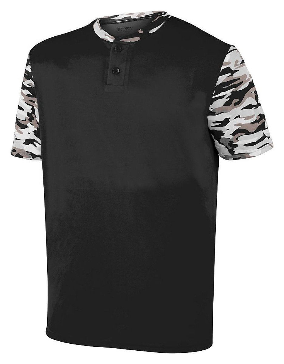 Augusta SportswearメンズPop Fly Jersey B01M2WH1UE XX-Large|Black/Black Mod Black/Black Mod XX-Large