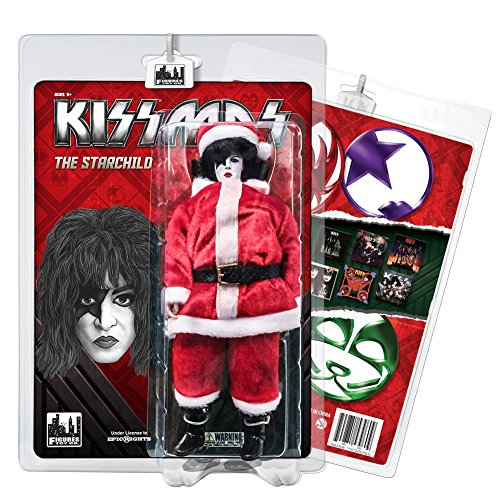 KISS 8 Inch Limited Edition Action Figure Christmas Series: The Starchild ()