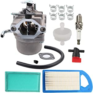 590399 796077 Carburetor + 794421 698413 Air Filter Tune Up Kit for Engines CC760 Lawn Mower