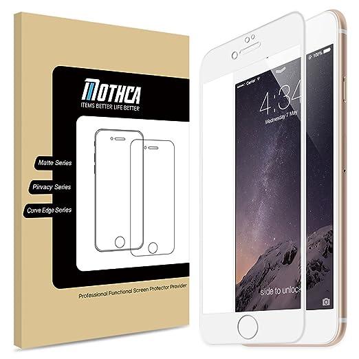 5 opinioni per iPhone 7 Proteggi Schermo , Mothca 3D Curvo Edge in Vetro Temperato La Copertura