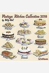 Vintage Kitchen Collection Wall Calendar Calendar