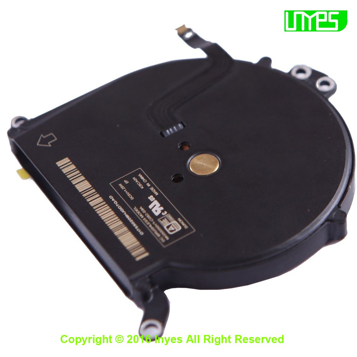 INYES CPU Cooling Fan for Macbook Air 13 A1369 Fan 2010 2011 A1466 2012 2013 2014 Year