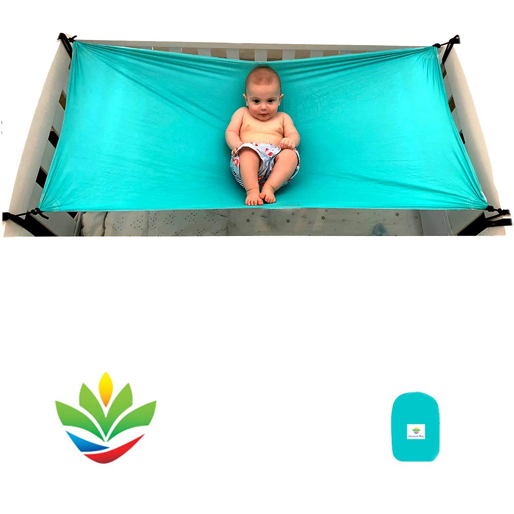 Hammock Bliss - Sky Baby 2 - Hammock Swing - The Ideal Solution For Putting Baby To Sleep – Fits Perfectly In Your Crib or Travel Cot – Floating Bed Helps Get Baby Ready To Nap