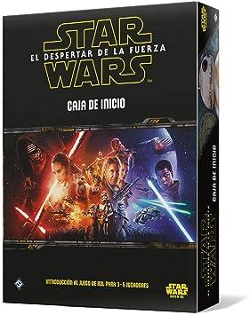 Fantasy Flight Games- Star Wars: El Despertar de la Fuerza: Caja de Inicio - Español, Color (FFSWR09): Amazon.es: Juguetes y juegos