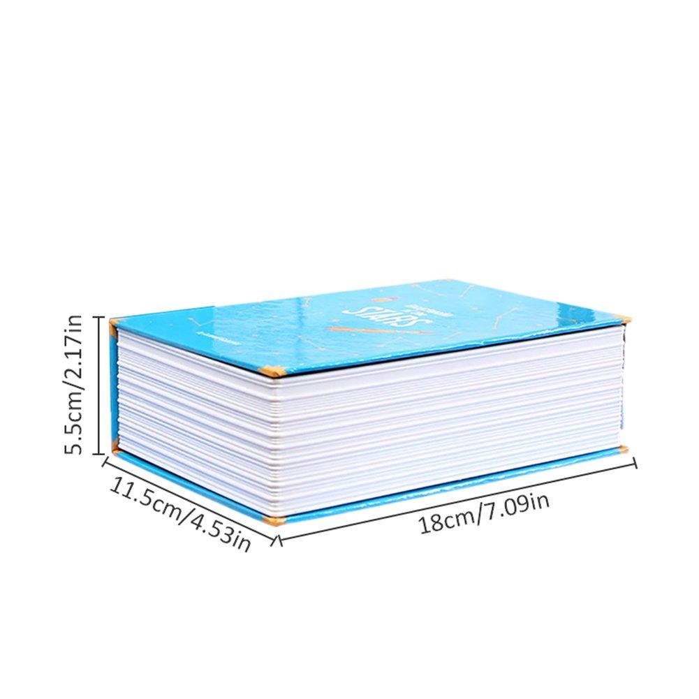 Bloomma Buch mit 3-Zahlenschloss mit der Safes gro/ß f/ür Bargeld Pistolen und andere stuffs 5.5/cm X 11,5/x 20/cm blau Schmuck P/ässe