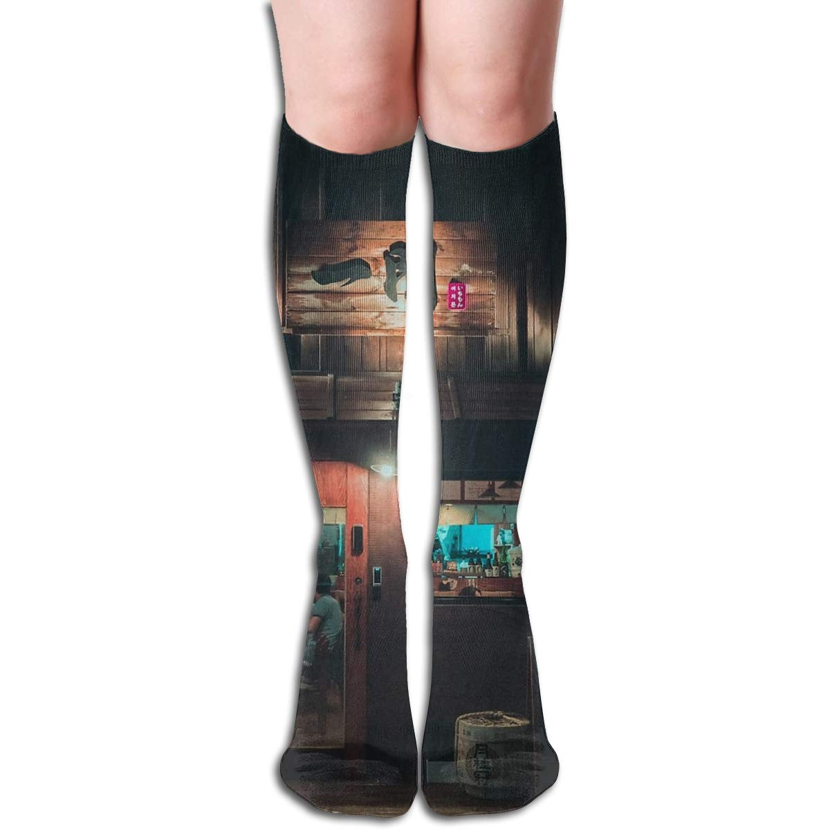 Last Nights Storm Unisex Compression Socks Athletic Tube Stockings Sport Long Socks One Size