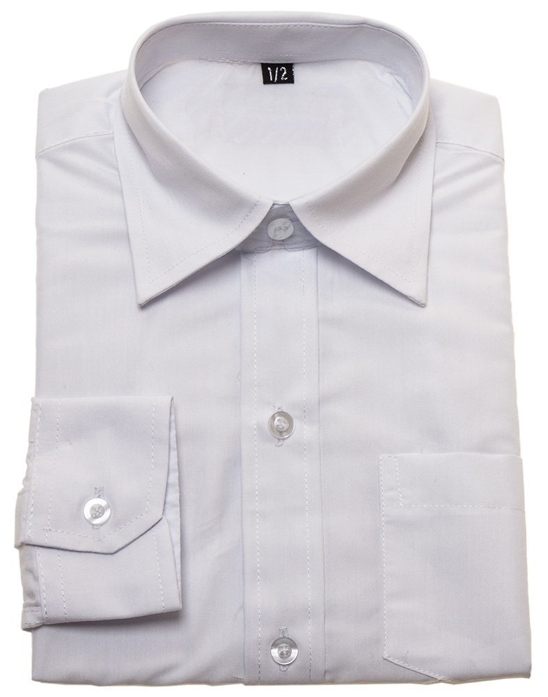 Baby boys white shirt (Size 12-18 months) Cachet Kids