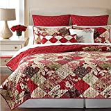 Martha Stewart Antique Patchwork 100% Cotton Standard Sham