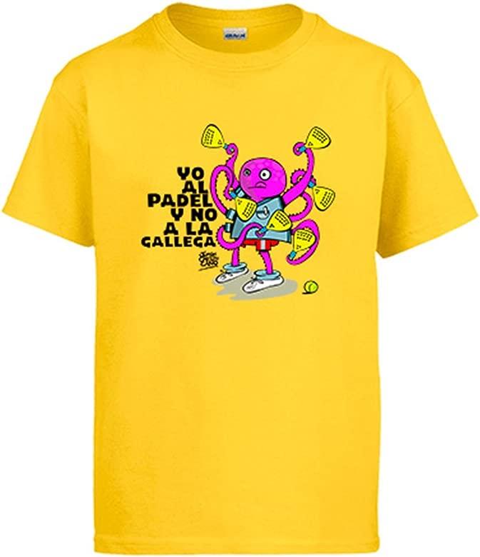 Diver Camisetas Camiseta yo al Padel y no a la gallega ...