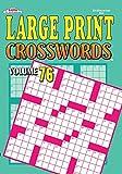 Large Print Crosswords Puzzle Book - Volume 76
