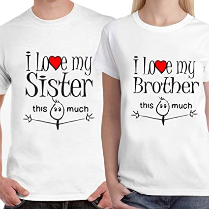 Buy Dreambag I Love My Brother Sister T Shirt Online At Low