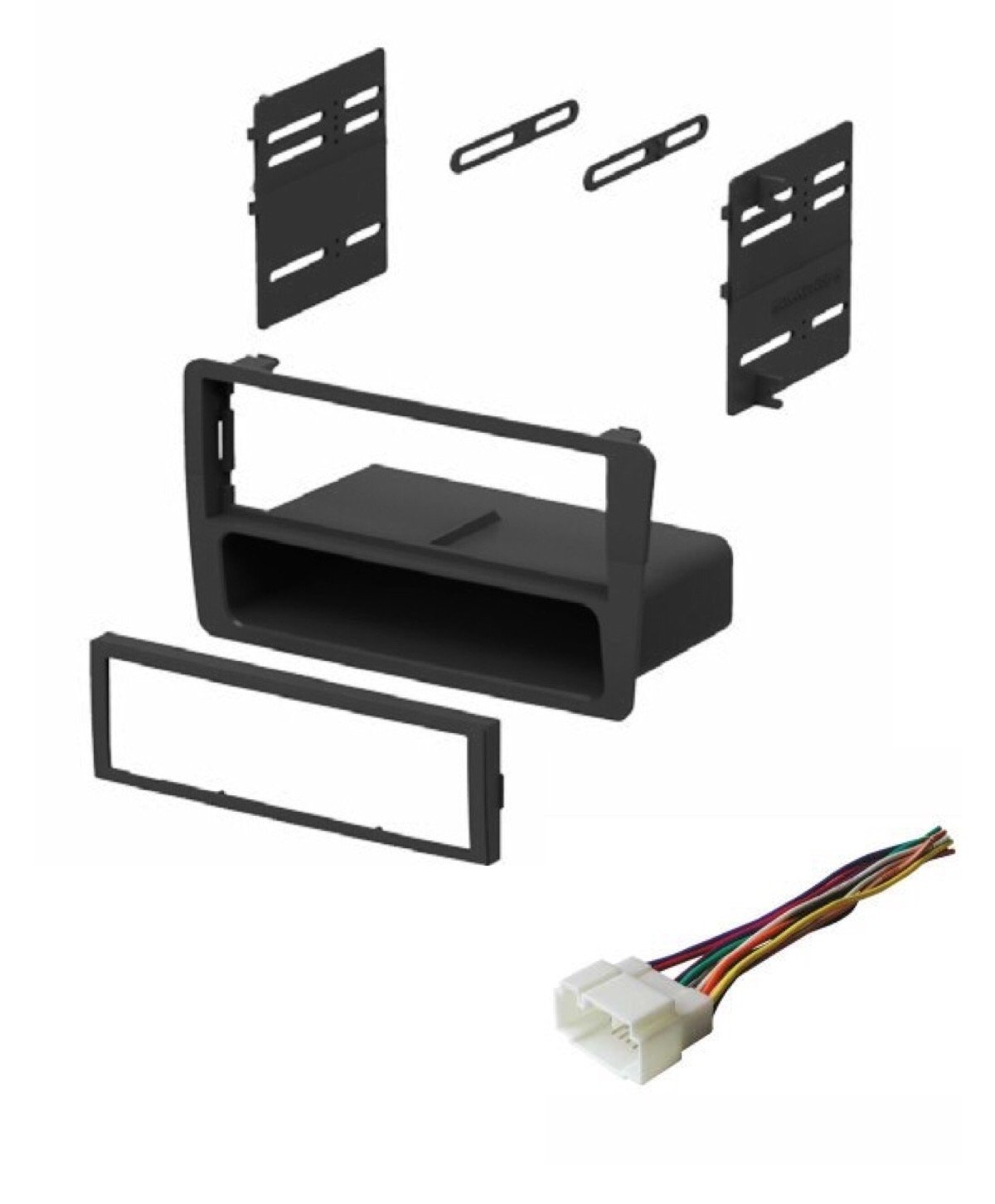 Best Rated In Car Audio Video Dash Mounting Kits Helpful Honda Wire Harness 2003 Asc Stereo Kit And For Installing An Aftermarket Single Din Radio