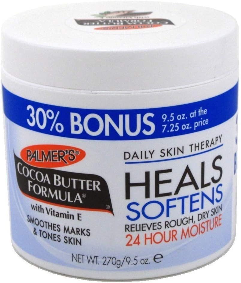 Palmers Cocoa Butter Jar with Vitamin E 9.5 oz. Bonus by Palmers: Health & Personal Care