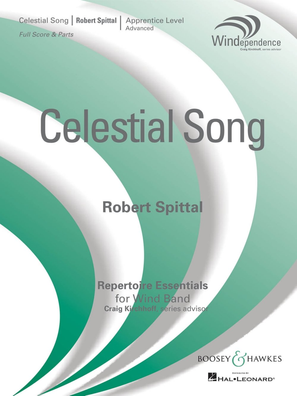 Boosey and Hawkes Celestial Song Concert Band Level 3 Composed by Robert Spittal pdf epub