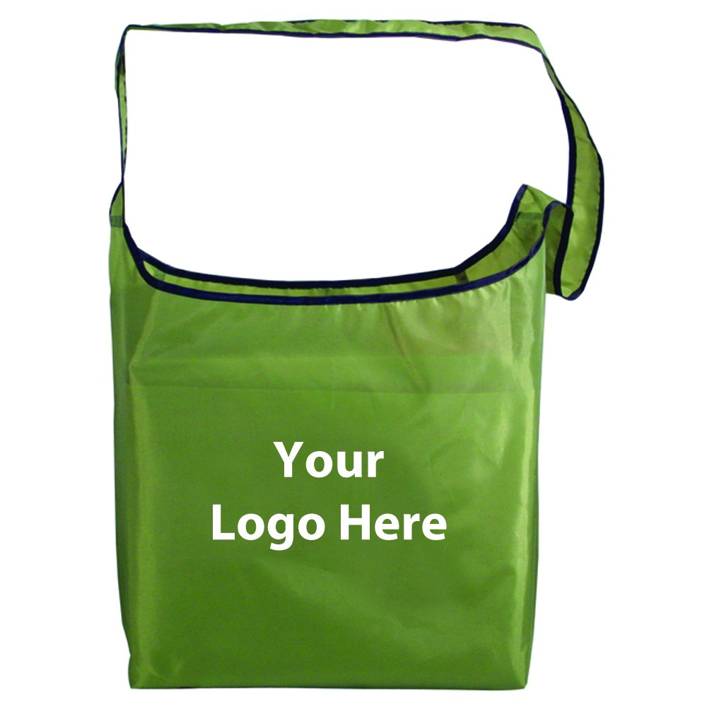 Rpet Fold Away Sling Bag - 100 Quantity - $2.50 Each - PROMOTIONAL PRODUCT / BULK / BRANDED with YOUR LOGO / CUSTOMIZED by Sunrise Identity