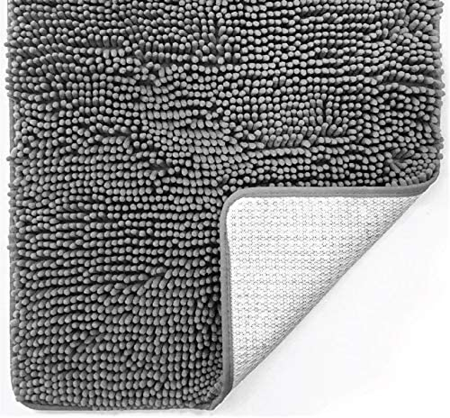 Gorilla Grip Original Luxury Chenille Bathroom Rug Mat ...