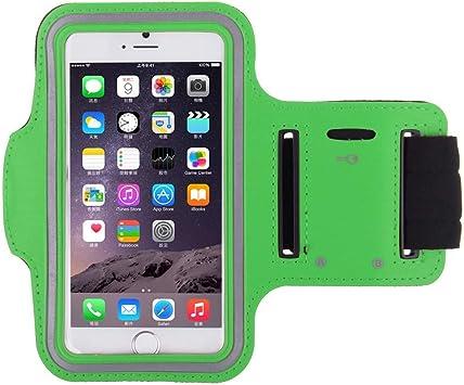 Brazalete Deportivo para ZTE Axon 7 Mini Correr Transpirable Smartphone Android Funda Funda T6 (Verde): Amazon.es: Electrónica