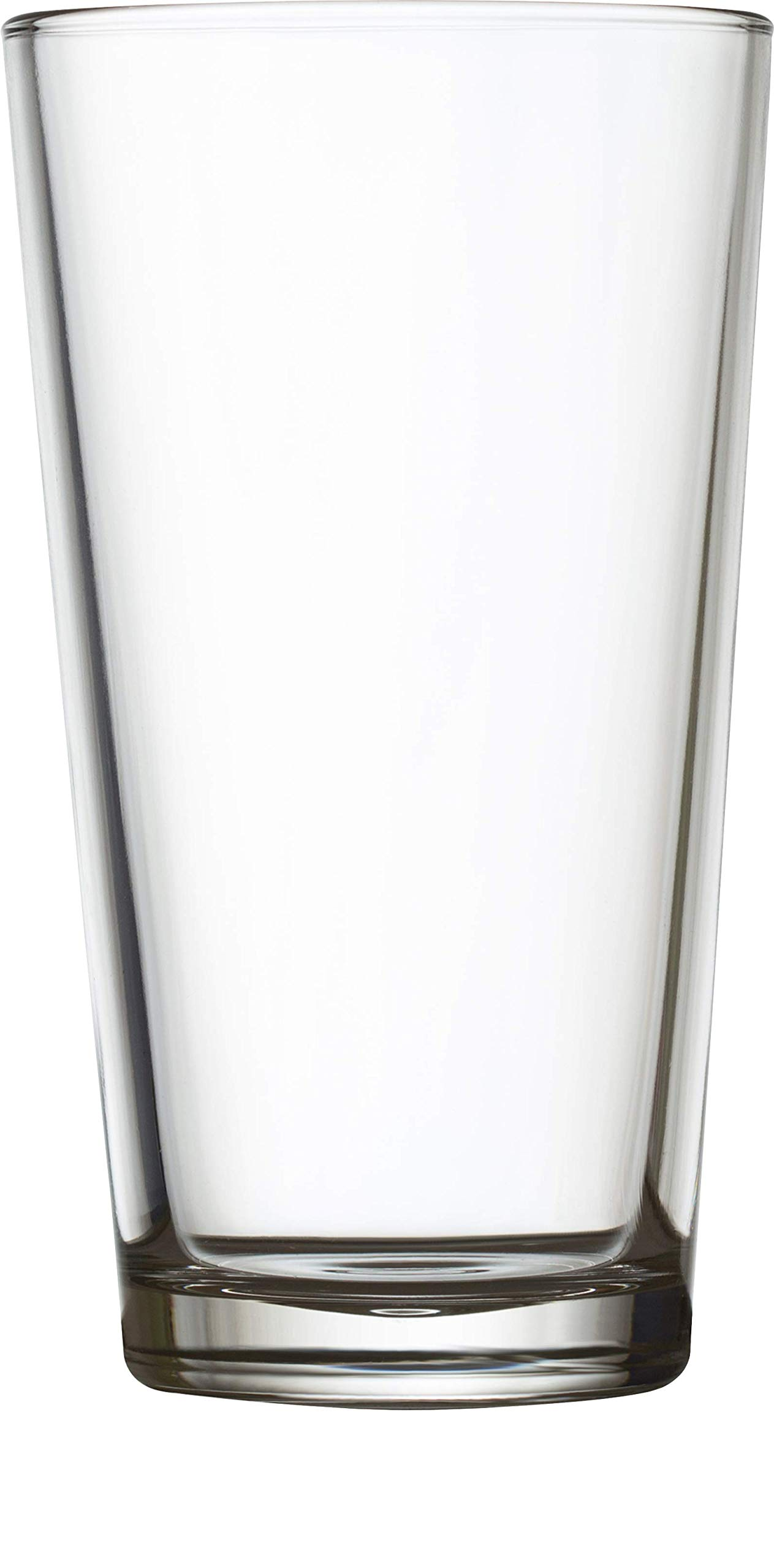 Circleware 04128/AM Huge 24-Piece Set of Highball Tumbler Drinking Glasses 16 oz. Home & Kitchen Party Heavy Base Clear Glassware Cups for Water, Beer, Juice, Ice Tea, Bar Beverages Simple Home 24pc by Circleware (Image #3)
