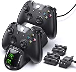 Controller Charger for Xbox One Controller, Charging Dock Station with 3