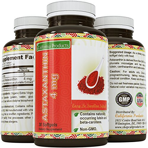 Astaxanthin Dietary Supplement Joint Relief