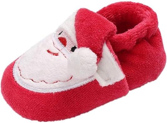 AMEIDD Baby Boys Girls Christmas Shoes
