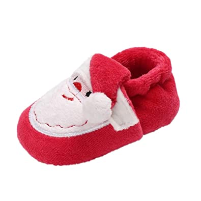 Christmas Shoes For Girls.Amazon Com Ameidd Baby Boys Girls Christmas Shoes Infant