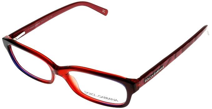 dolce gabbana prescription eyeglasses frame womens dg3084 1538 red gradient