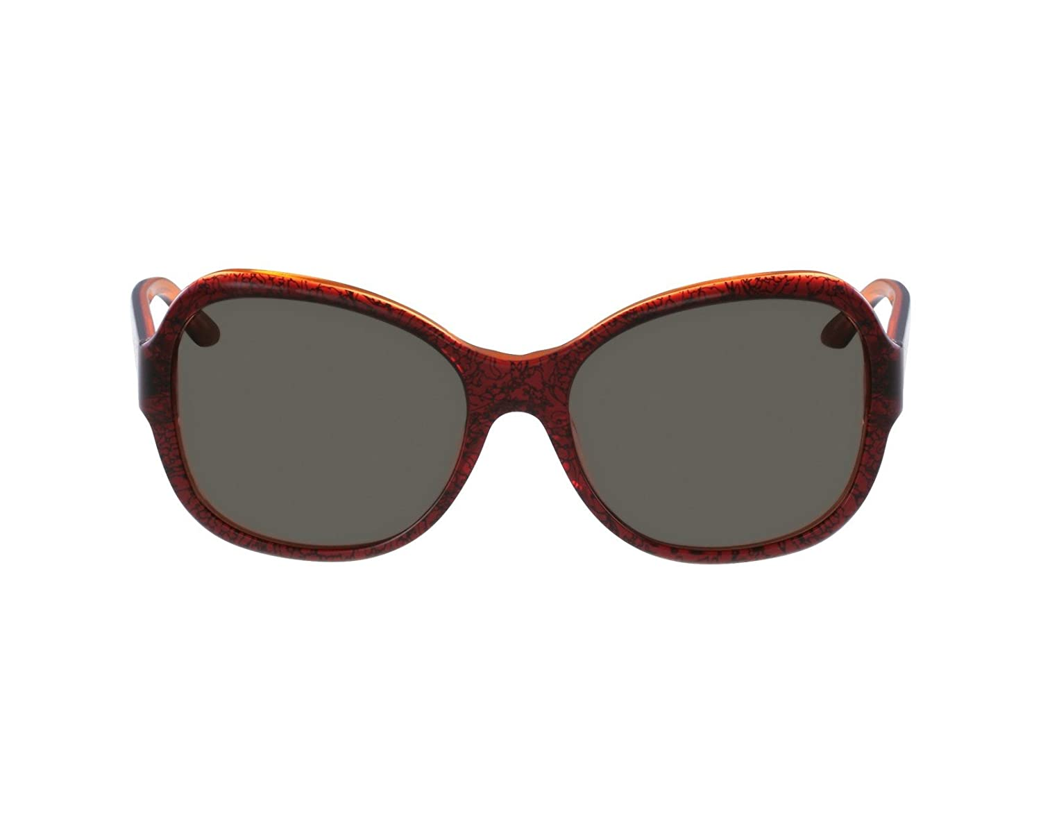 75e294cfa6c0 Versace Women s 4259 Baroque Bordeaux Transparent   Orange Transparent  Frame Brown Lens Plastic Sunglasses  Amazon.co.uk  Clothing