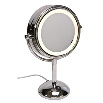 round vanity mirror with lights. Harry D Koenig  Co Lighted Vanity Mirror Round 8 Inch Amazon com