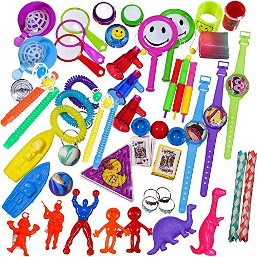 BDC Toy Assortment Stocking Stuffers, 100 Pieces