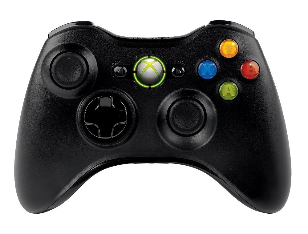 Microsoft Xbox 360 Wireless Controller Brand New Black (Shipped in Bulk Packaging) by Microsoft (Image #2)