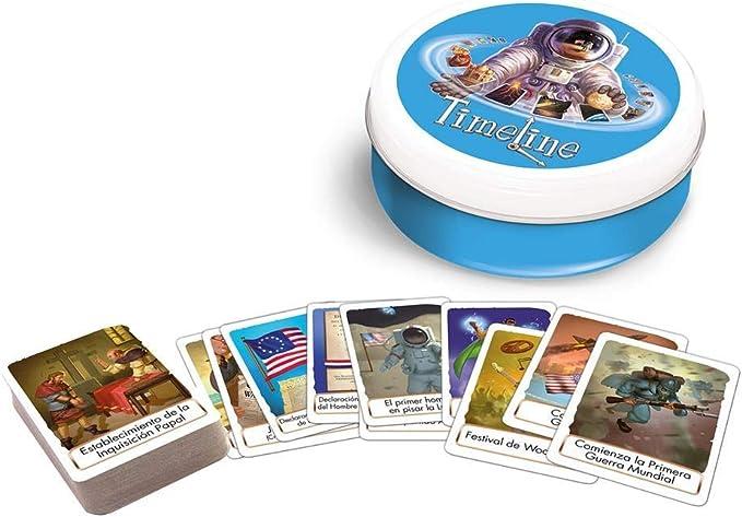 Zygomatic- Timeline: Eventos, Color (Asmodée TIME02ES): Amazon.es: Juguetes y juegos