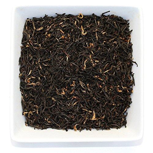 Assam 4 Cup Tea Press (Tealyra - Assam Harmony - Best Indian Black Loose Leaf Tea - Top Grade Second Flush - Perfect Morning Tea - Energy Boost - Caffeine Bold - Organically Grown - 110g (4-ounce))