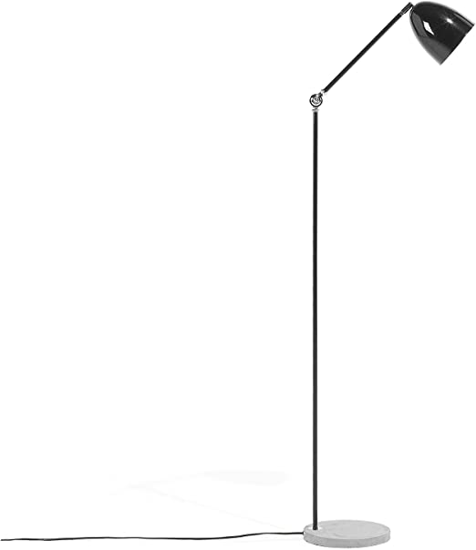 Beliani Lámpara de pie Negra 165 cm CHANZA: Beliani: Amazon.es: Hogar
