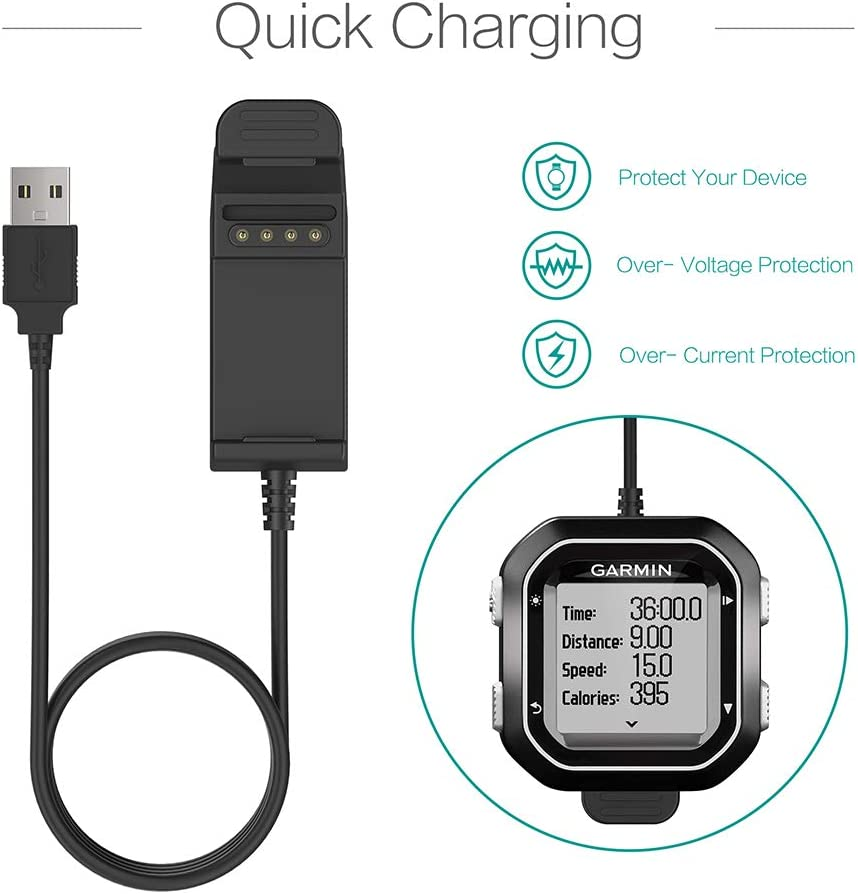 GARMIN Edge 520 GPS Bike Bicycle Computer USB Charger Cable Lead