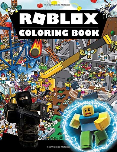 Roblox Coloring Book Good For Kids A Great Way To Relaxation