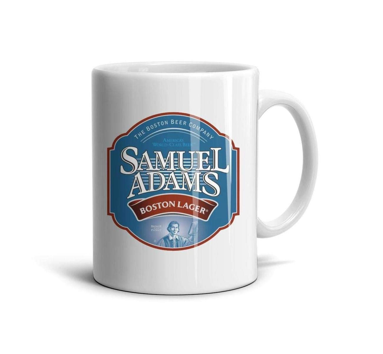 HIYITUTA Samuel-Adams-Logo Mugs Design Cute Mug 11 Oz Office Mugs Dad Mom