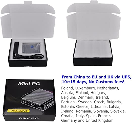 Qotom Fanless Core I3 Mini Pc With 4 Intel Nic Hd Computer Zubehör