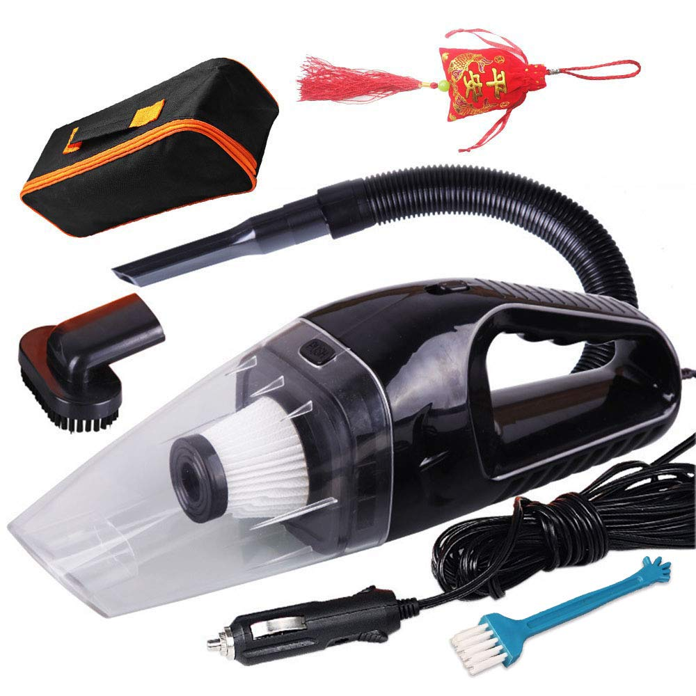 Corded Car Vacuum Cleaner Wet Dry Portable Auto For